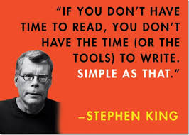 Stephen King Meme - stephen king writing advice disappearinginplainsight