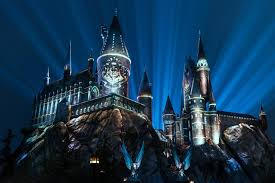 stunning nighttime lights give the harry potter franchise new