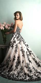 white and black wedding dresses 21 black wedding dresses with edgy elegance black wedding