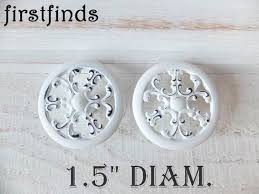 kitchen cabinet door knob screws white filigree knobs kitchen cabinet door pulls shabby chic furniture drawer hardware farmhouse cupboard snowflake painted screws included
