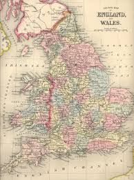 Cheshire England Map by Maps