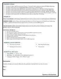 mechanical engineering resume what is the best resume for mechanical engineer fresher quora