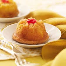 mini pineapple upside down cakes recipe taste of home