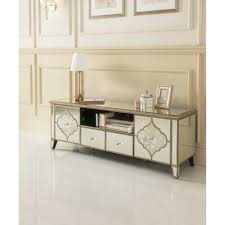glass furniture sassari mirrored tv cabinet glass furniture