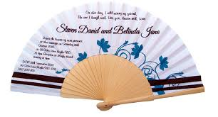 personalized folding fans two color custom printed fabric folding fans fanprinter