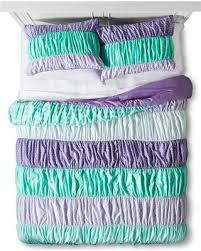 Purple Ruffle Comforter Amazing Holiday Shopping Savings On Ruched Comforter Set