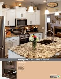 showplace cabinetry styles woods u0026 finishes booklet by showplace