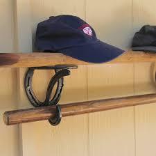 horseshoe decorations for home 2 horseshoe shelf bracket hooks supports for shelves pole rods