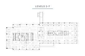 Absolute Towers Floor Plans by Building Tower 27 Dallas Texas Luxury Office Space