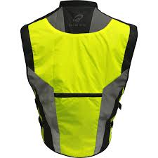 mens hi vis cycling jacket black hi vis reflective motorcycle vest motorbike waistcoat