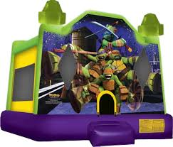 bounce house rentals jacksonville mutant turtles tmnt bounce house
