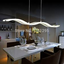 Ceiling Light Dining Room Led Pendant Lights Modern Design Kitchen Acrylic Suspension