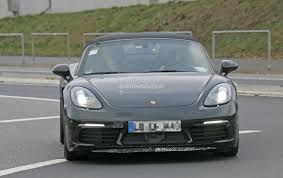 porsche spyder 2018 2018 porsche 718 boxster gts makes spyshot debut to be a turbo