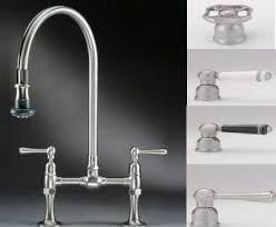bridge faucets for kitchen bridge faucets for kitchen k 7337 4 hirise deck mount sink faucet