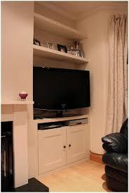 Shelves For Tv by Floating Corner Shelf Diy Wall Mounted Corner Tv Stand White