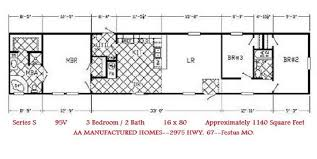 single home floor plans single wide mobile home floor plans and pictures