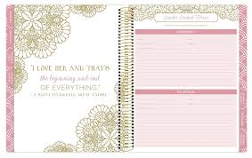 planner wedding bloom daily planners undated wedding planner