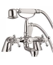 victorian bath shower mixer kit