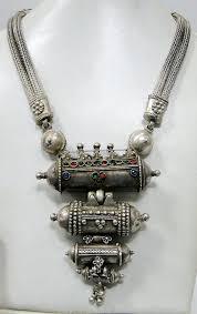 vintage silver pendant necklace images Antique vintage tribal old silver prayer pendant by tribalexport jpg