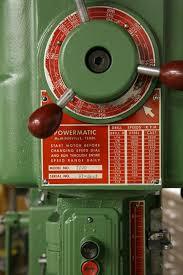 photo index powermatic machine co pm 1200 vs drill press