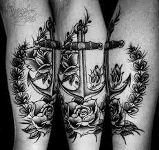 anchor tattoos for ideas and inspiration for guys