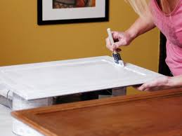 Painted Wooden Kitchen Cabinets How To Paint Kitchen Cabinets How Tos Diy