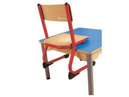 chaise m tallique chaise métallique appui sur table wesco