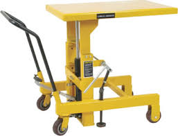 hydraulic die lift table roller top scissor lift table hydraulic