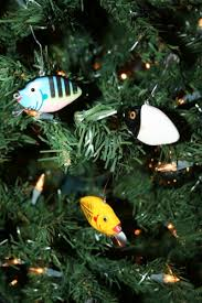 your tree with heddon punkinseed ornaments