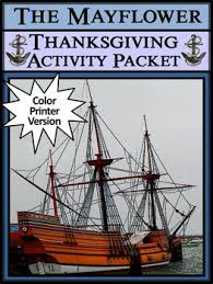 mayflower activities the mayflower thanksgiving activity packet