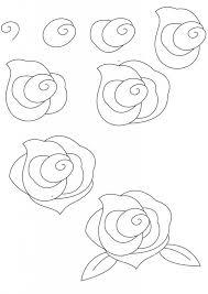 how to draw a rose u2026 pinteres u2026