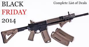 black friday firearm deals update firearms industry black friday deals list round 2