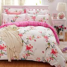Sheet Bedding Sets Plaid Bedding Set 4pcs Polyester Cotton Duvet Cover Bed Sheet 2pcs