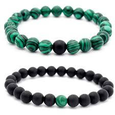bracelet quartz images Roxi chakra bracelets charm couple bracelet quartz malachite jpg
