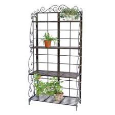 Metal Bakers Rack Outdoor Bakers Rack Plant Stand