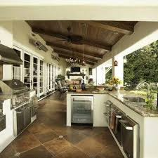 Outside Kitchen Design Best 20 Covered Outdoor Kitchens Ideas On Pinterest Backyard