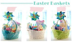 easter baskets to make kid s easter basket ideas the gunny sack