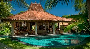 small pool house swimming pool architecture luxury balinese home design with red