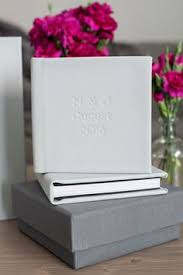 wedding albums nyc mikkel photography photos of a navy blue leather madera