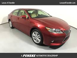 lexus warranty work at toyota dealer 2013 used lexus es 350 4dr sedan at mini of tempe az iid 16739261