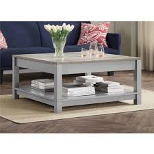 coffee tables simple round white wood end table decorating