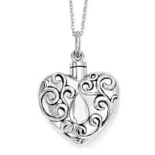 cremation necklaces cremation jewelry for ashes cremation necklace sterling silver