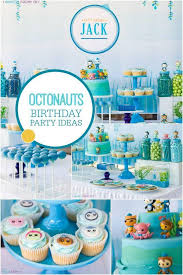 octonauts party supplies a boy s octonauts inspired 3rd birthday party spaceships and laser