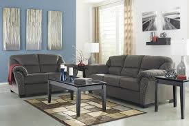 Charcoal Sofa Bed Kinlock Charcoal Sofa U0026 Loveseat 33400 38 35 Living Room