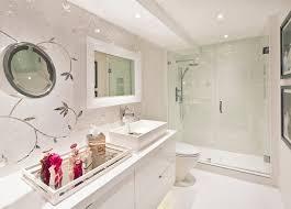 Delightful Vanity Trays For Bathroom Mirror Trays For With Floating Vanity Bathroom Eclectic And Bronze