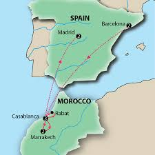 Marrakech Map World by First Class Spain Tours 4 Star Comfort And Conveninence