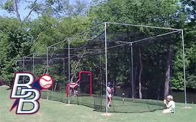 baseball cage designs design to fit beacon athletics ballfields