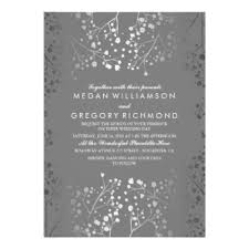silver wedding invitations announcements zazzle
