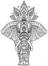 majestic animal mandala coloring pages 11 free printable
