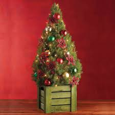 decorating small pre decorated trees wonderful tabletop
